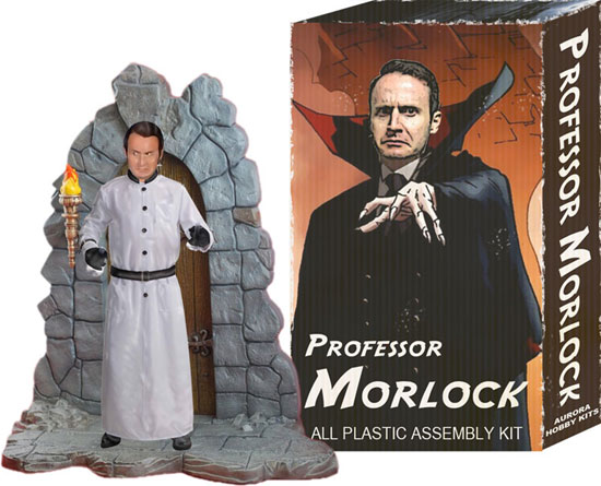 The Professor Morlock model kit from Aurora